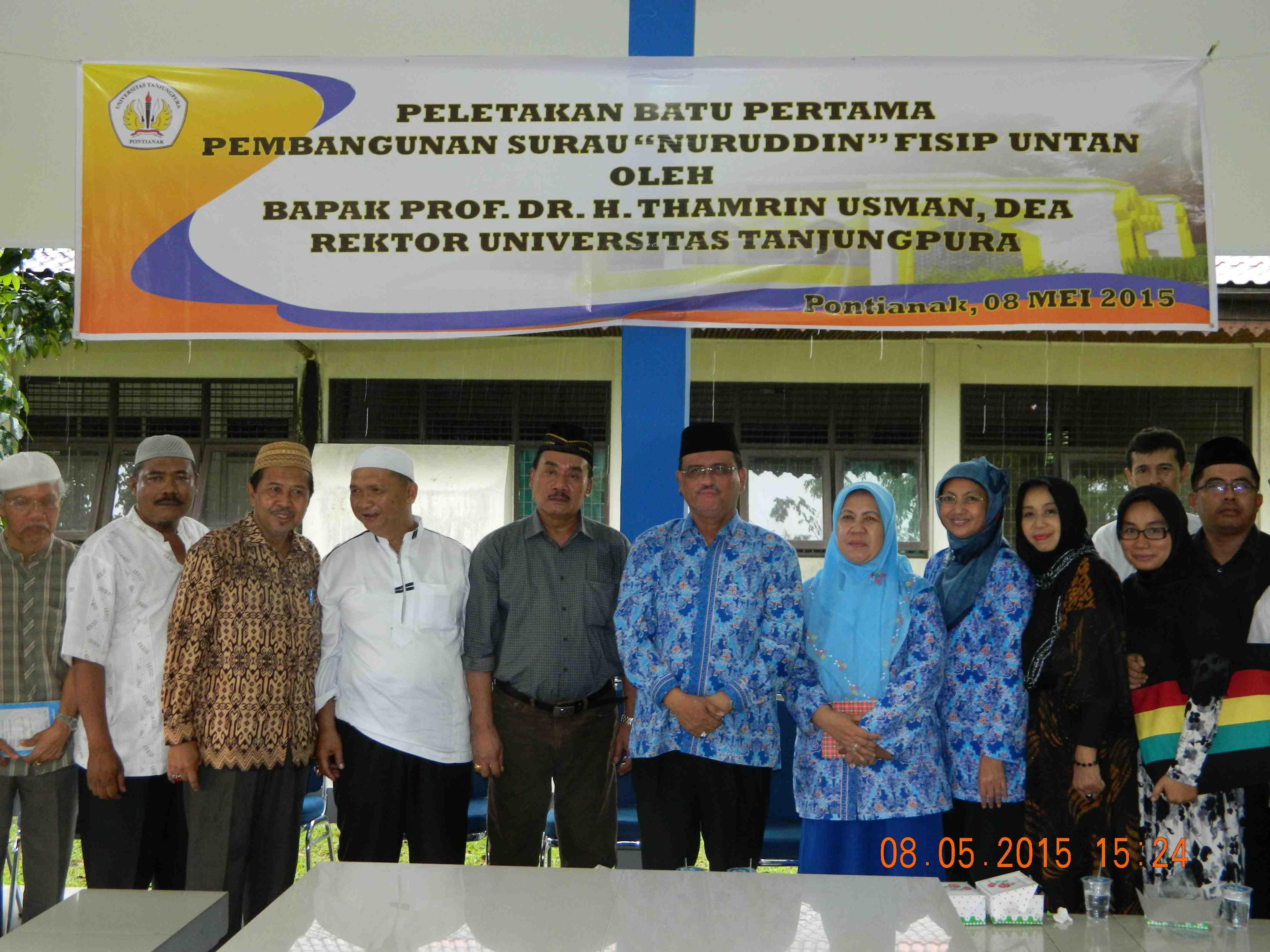 Peletakan Batu Pertama Pembangunan Surau Nuruddin
