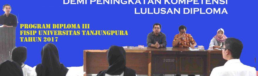 212 Mahasiswa Diploma III FISIP Untan Ikuti PKL 2017