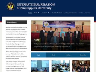 Selamat Datang di Homepage Official Website Program Studi Hubungan Internasional