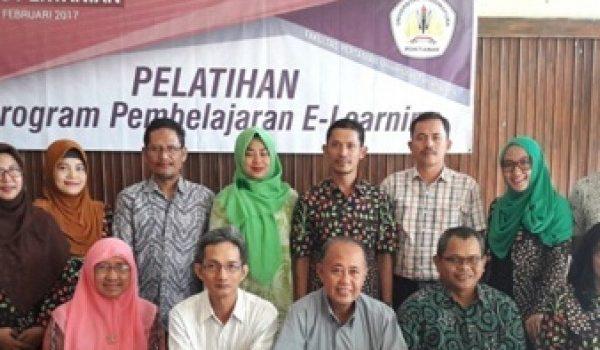 ITP Faperta Untan Gelar Pelatihan e-Learning