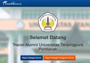Pengisian Aplikasi Tracer Alumni Universitas Tanjungpura