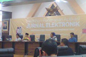 Pelatihan Aplikasi Jurnal Elektronik